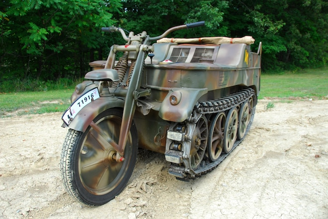 Backward Glances: 1944 NSU HK101 Kettendrad, The Ultimate ATV