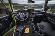 2019 suzuki jimny interior dashboard