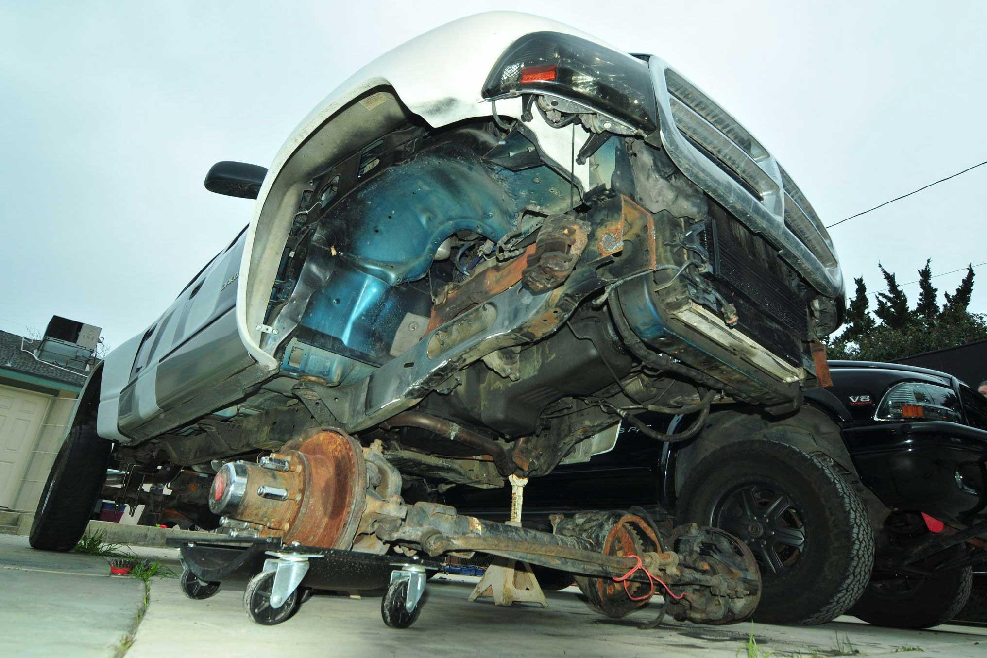 techline dodge dakota durango solid axle swap sas