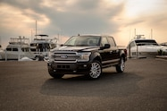 2019 ford f 150 limited exterior front quarter 01