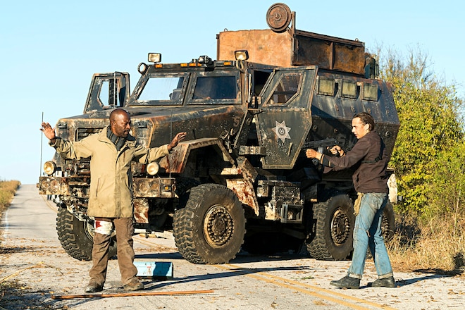 Ultimate Zombie Apocalypse Rig? MRAP From Fear The Walking Dead