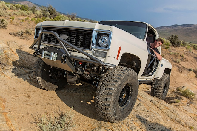 Rockcrawling in a Classic 1977 Chevy K10 Isn't Easy, But That Doesn't Stop Grant Chapman