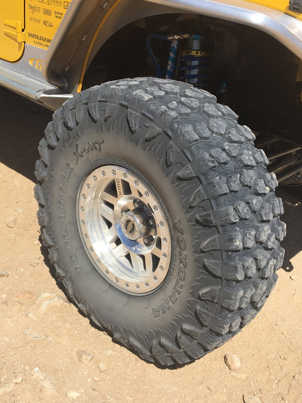 tire review yokohama X MT