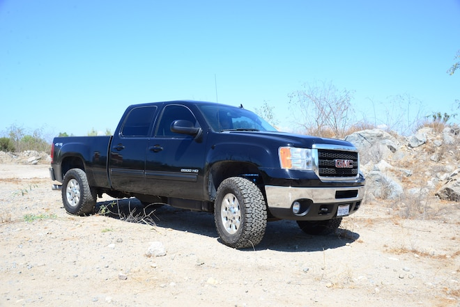 Mid-Travel Leveling Kit for 2011-Up GM 2500 & 3500