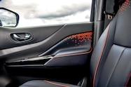 nissan navara dark sky concept interior door panel