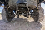 08 toyota land cruiser fj45 rear axle
