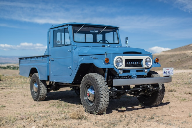A Rare 1968 FJ45 Gets a Second Lease on Life