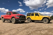 2018 colorado climb 2018 jeep wrangler and 2019 ram 1500 rebel