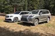 2018 colorado climb 2019 lexus lx570 and mercedes gls63