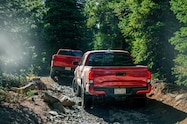 2018 colorado climb 2018 toyota tacoma and ram rebel on trail