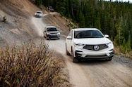 2018 colorado climb 2019 acura rdx on trail