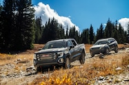 2018 colorado climb 2019 gmc sierra 1500 at4 and jeep cherokee trailhawk