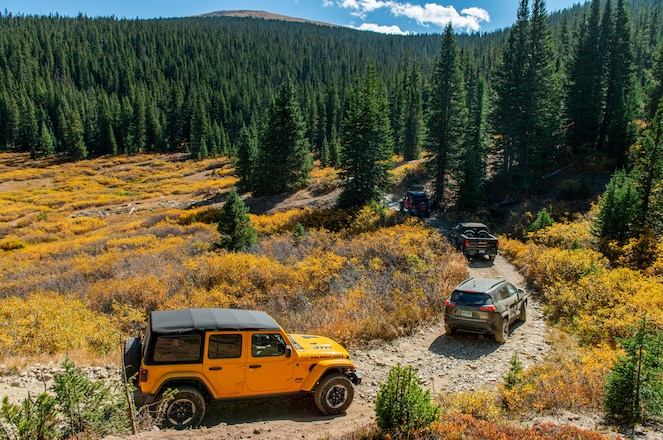 Colorado Climb 2018: Off-Roading in the Rockies with Eleven Trucks, SUVs, and Crossovers