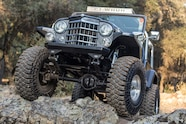 06 willys cj6 grille