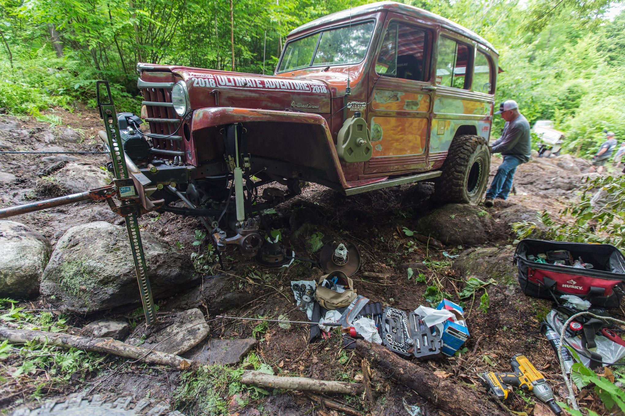 2018 ultimate adventure rick prater broken axleshaft lead