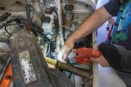 05 fj40 cutting steering column