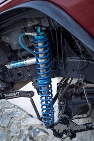 2007 jeep wrangler jk stretch front king coilover