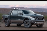 mopar 2019 ram 1500 rebel front quarter 02