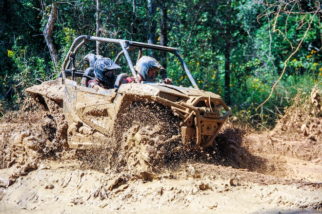 Getting Muddy with Polaris at High Lifter Proving Grounds