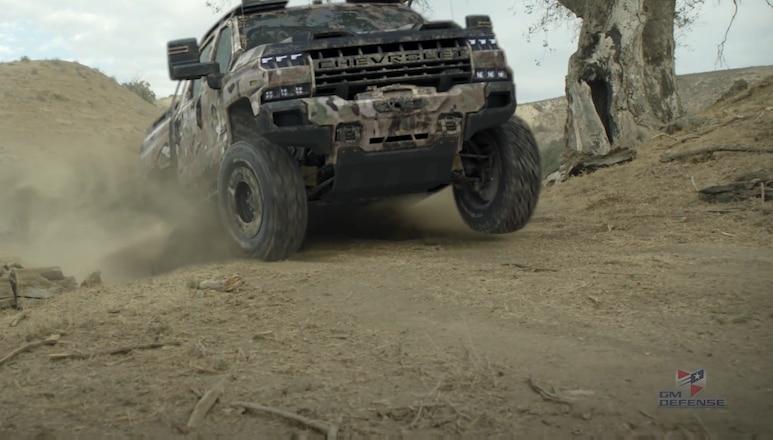 GM Defense Unveils Concept Silverado ZH2
