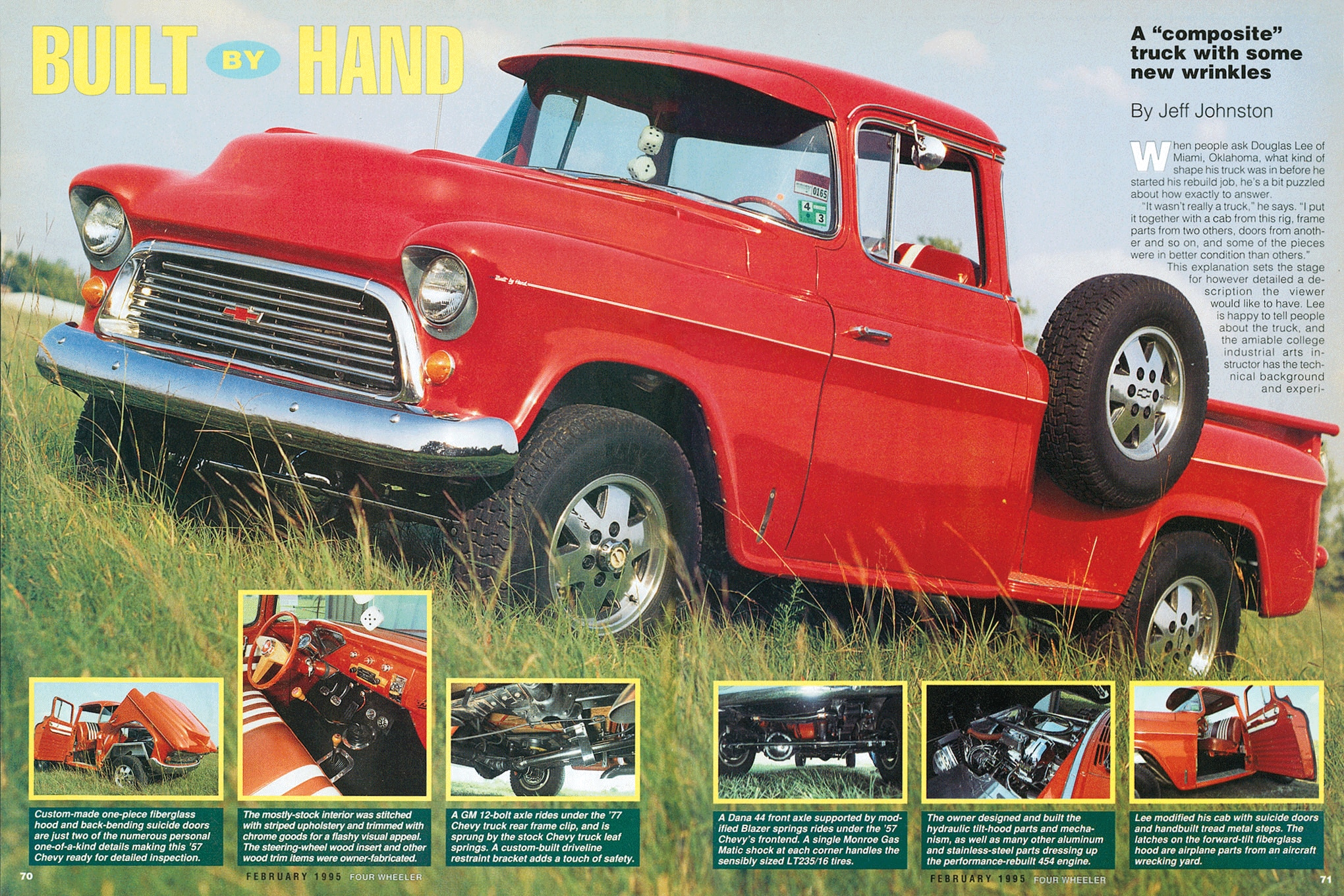douglas lee 1957 chevy pickup