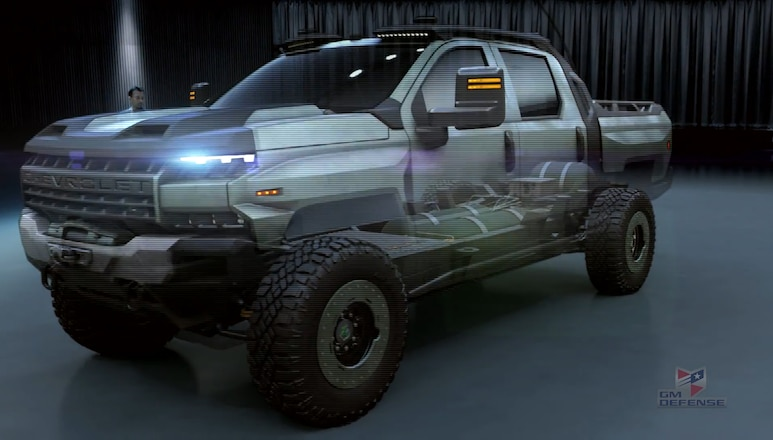 Is Chevrolet Making A Big Brother to the Colorado ZR2 based on the Silverado?
