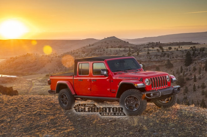 2020 Jeep Gladiator Pickup Leaked Early