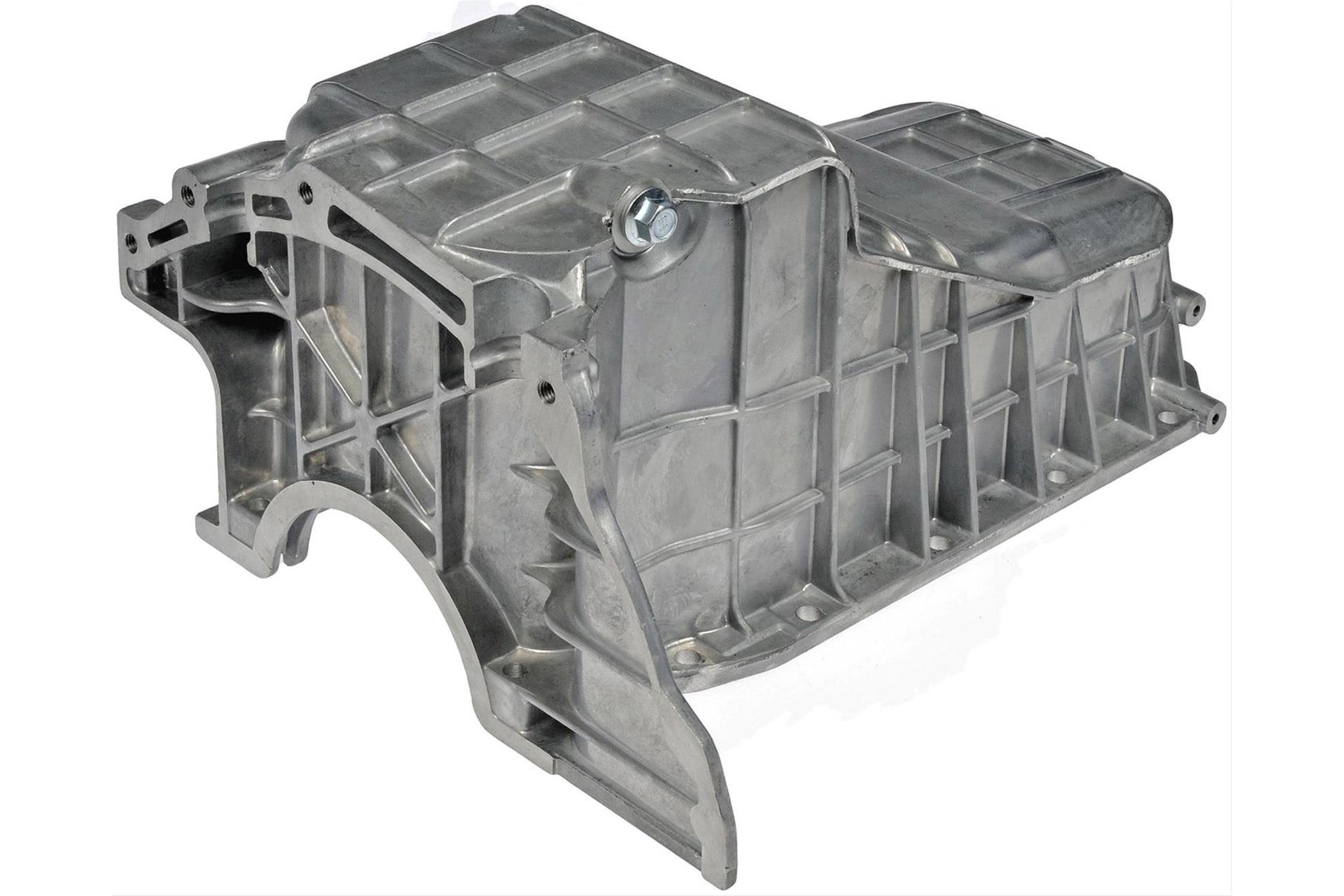 your jeep gm 4.3l oil pan low profile cast aluminum dorman 264 482