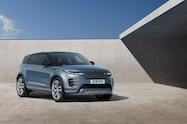 2020 range rover evoque exterior studio front quarter 01