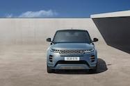 2020 range rover evoque exterior studio front view 01
