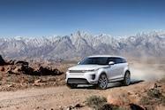 2020 range rover evoque exterior off road front quarter 02