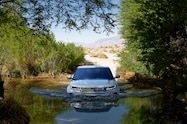 2020 range rover evoque exterior off road front view 01