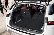 2020 range rover evoque interior rear cargo area