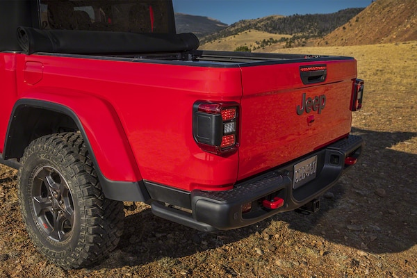 2020 Jeep Gladiator Photos Of New Wrangler Pickup Truck Fortune