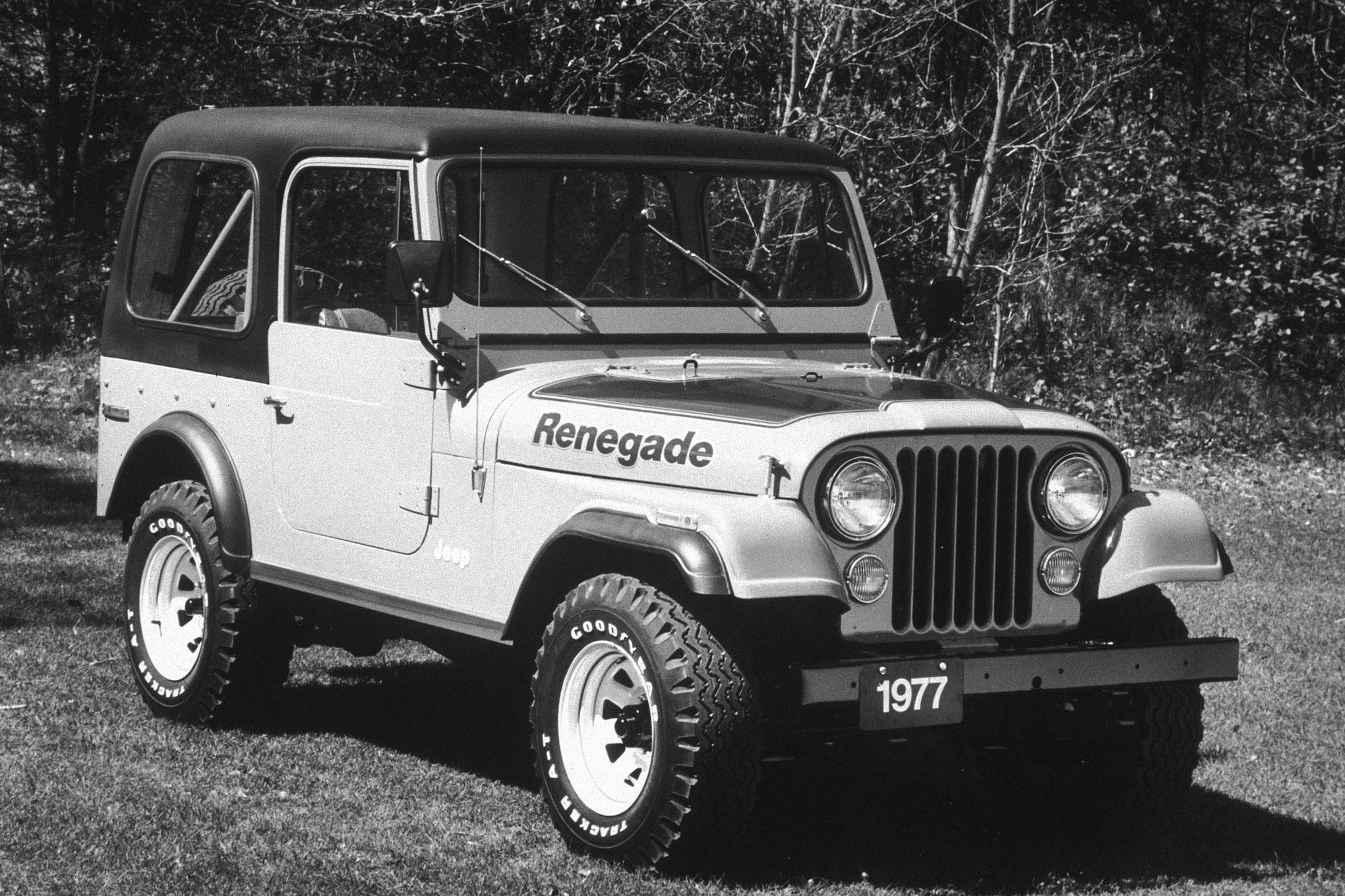 your jeep 1977 jeep cj7 renegade