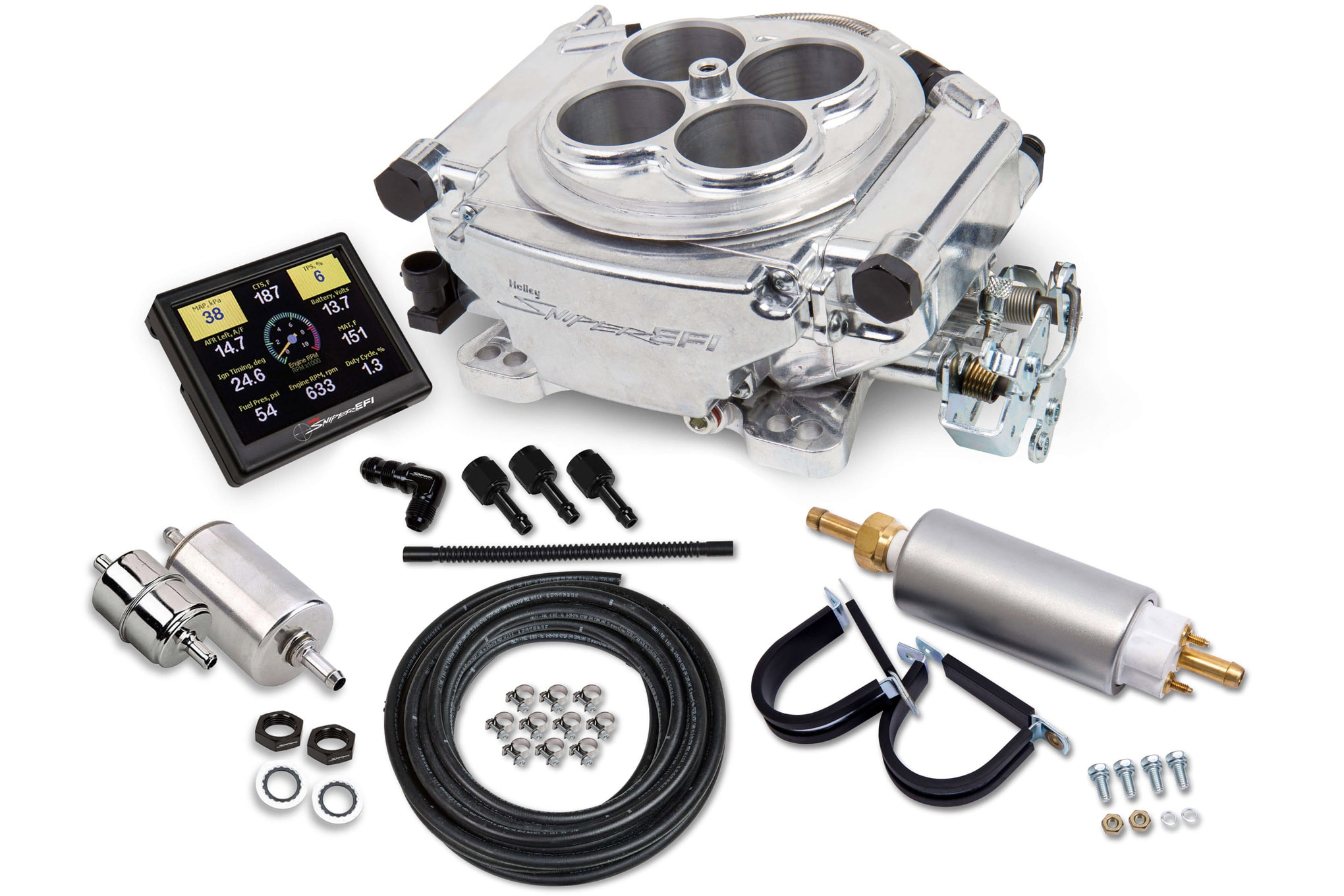 your jeep holley sniper efi kit fuel pump 12 920 fuel injection