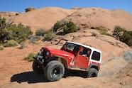 004 cooper sst pro tire test follow up slick rock moab cj7