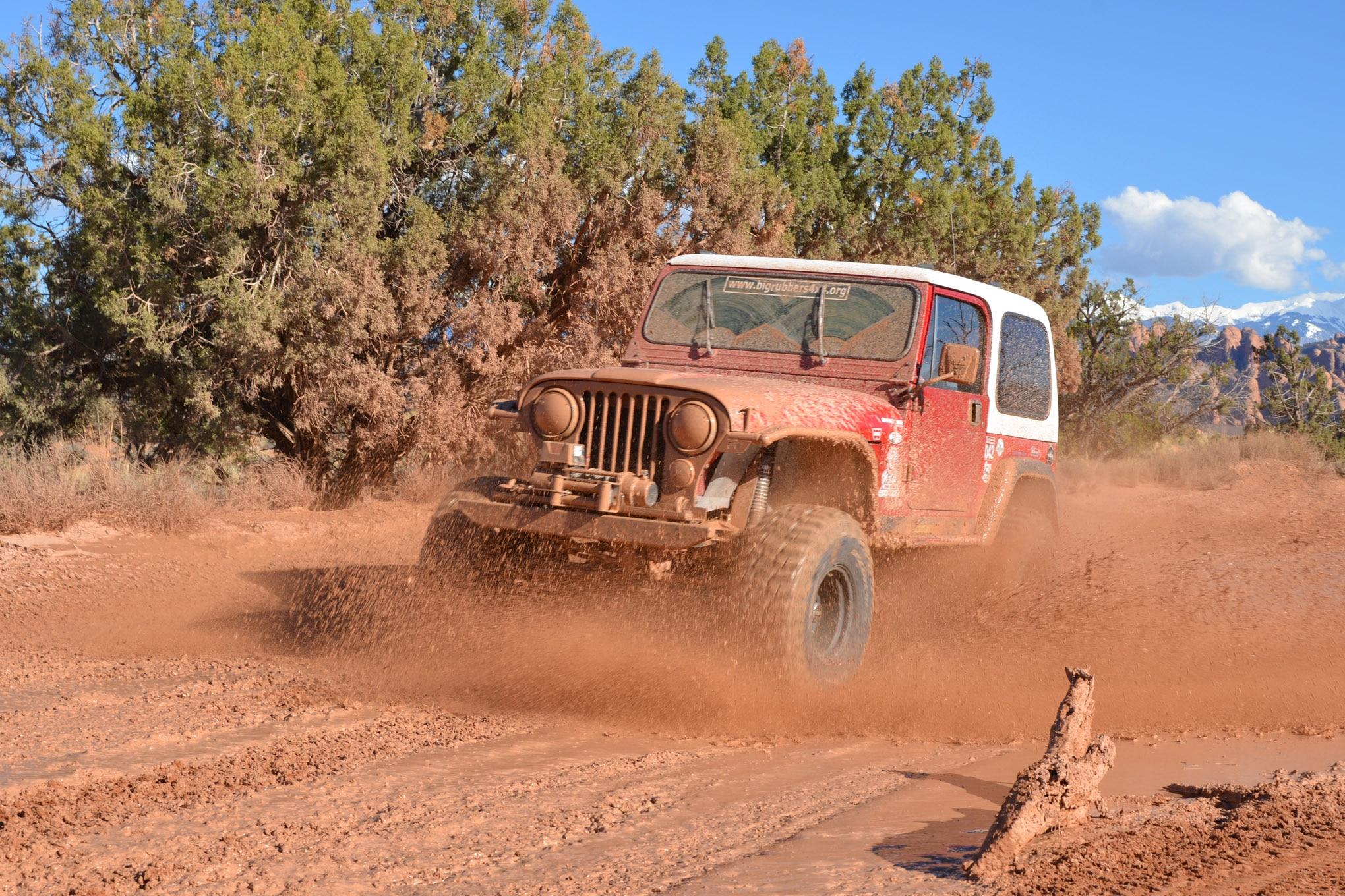 001 cooper sst pro tire test follow up mud runner cj7 lead