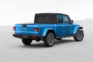 2020 jeep gladiator overland build and price exterior rear quarter 01
