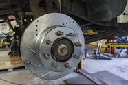 06 powerstop brake rotor installed