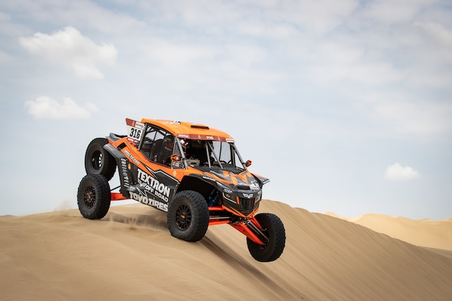 Dakar Rally Underway In Peru
