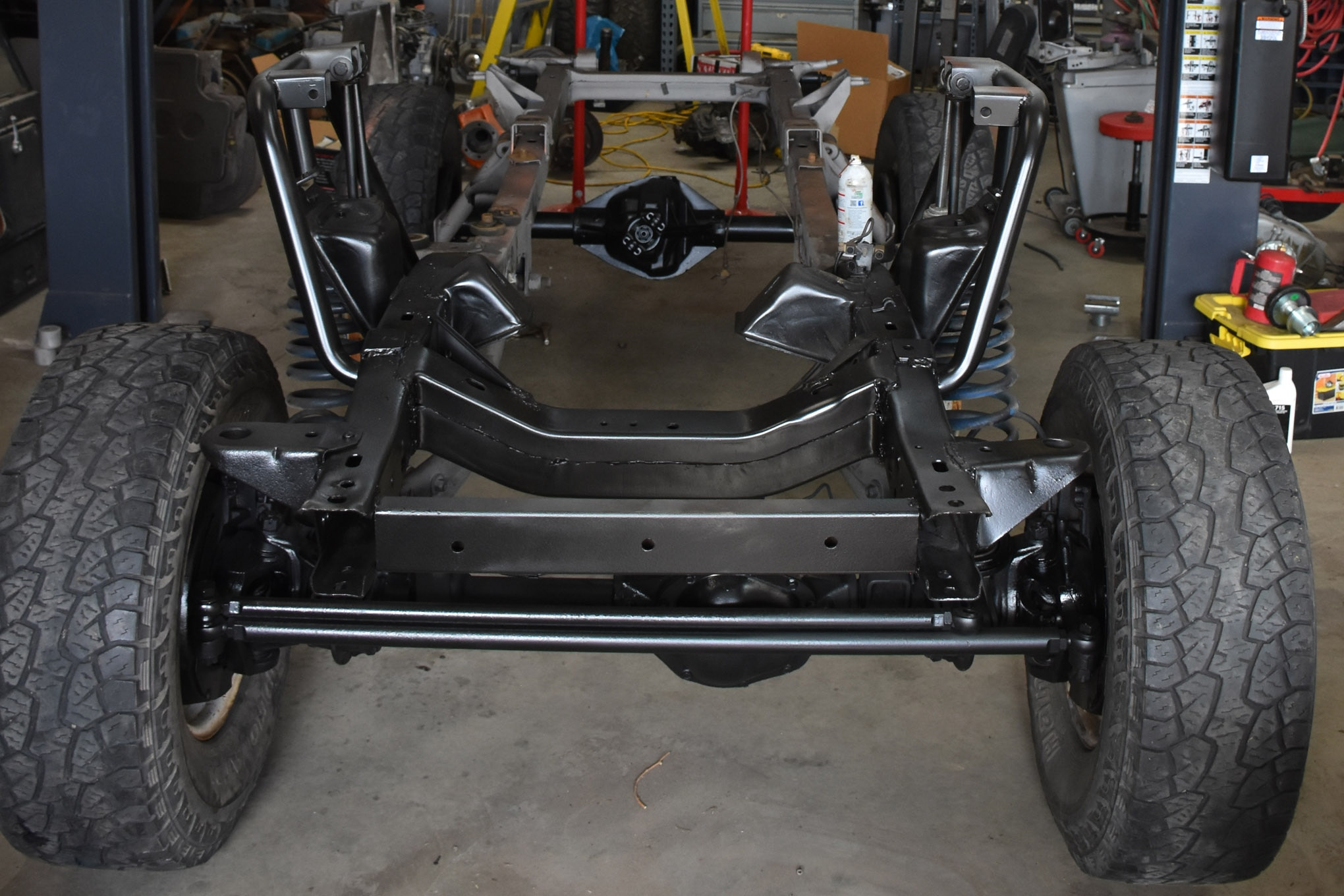 early bronco project vehicle lead