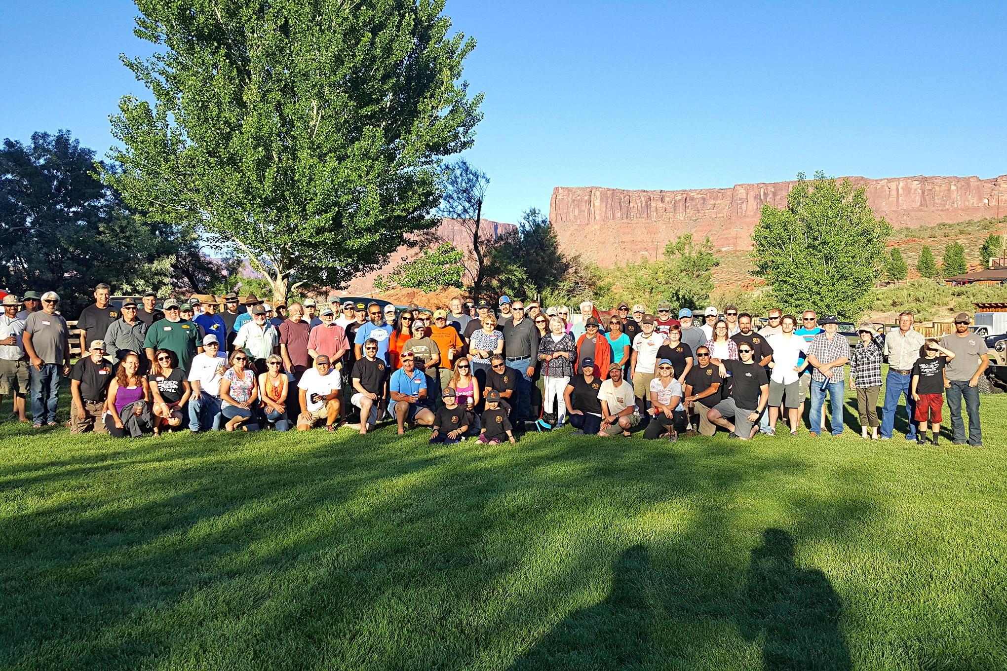 Close to 50 vintage Willys and over 100 people registered for the 9th Annual Moab Willys Rally. This event continues to grow, and if you love old Willys, you should attend this event.