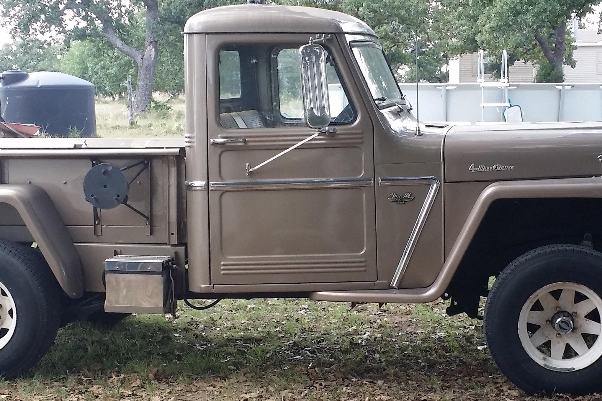 jeep reader rides sideways jeff bean 1962 willys current