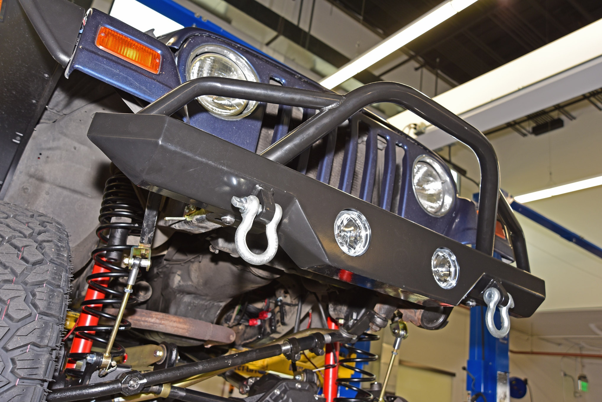 001 jeep bumpers designed for recovery