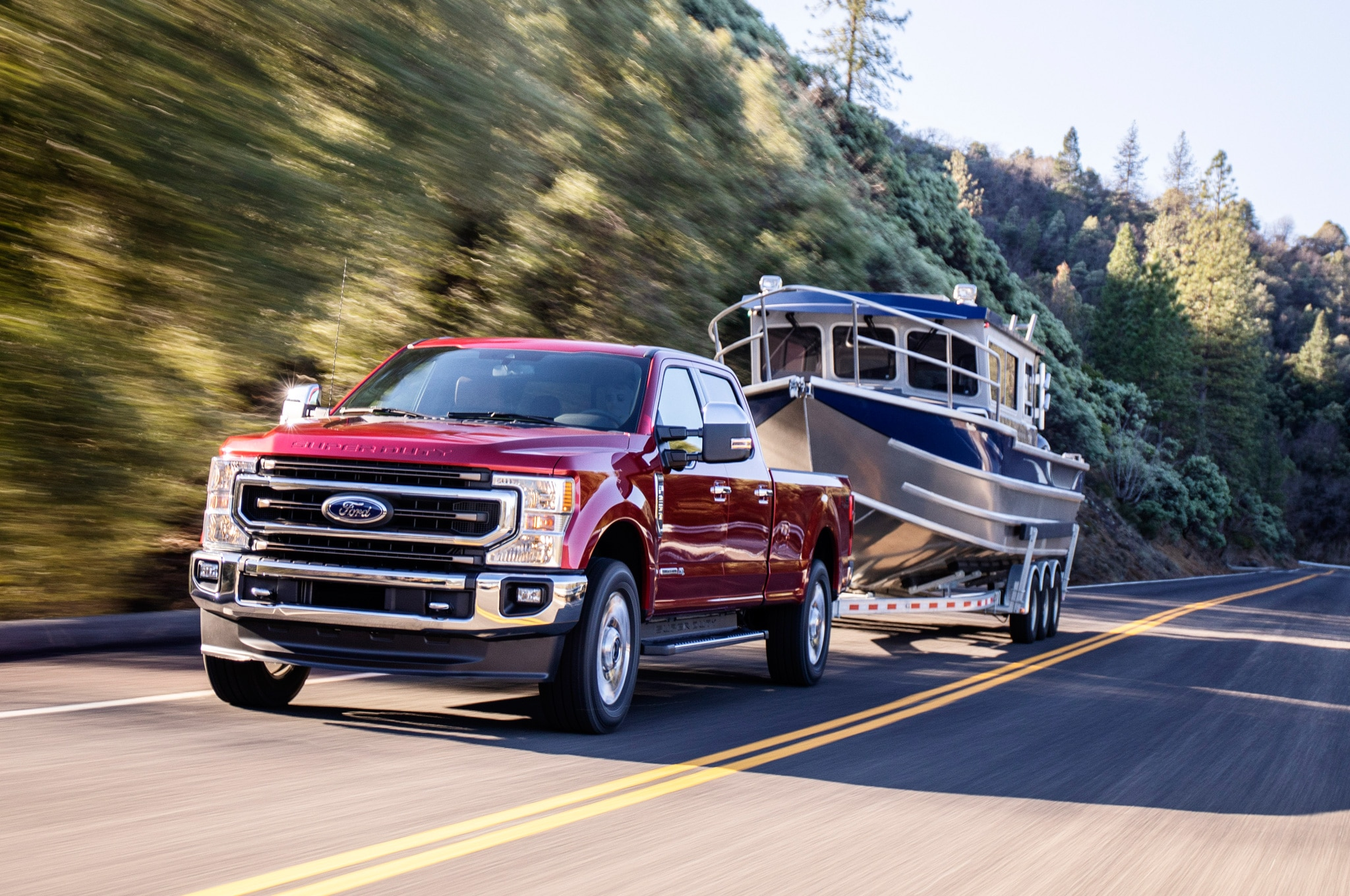 2020 ford f 250 super duty king ranch exterior front quarter 04