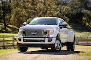 2020 ford f 450 super duty limited exterior front quarter 03