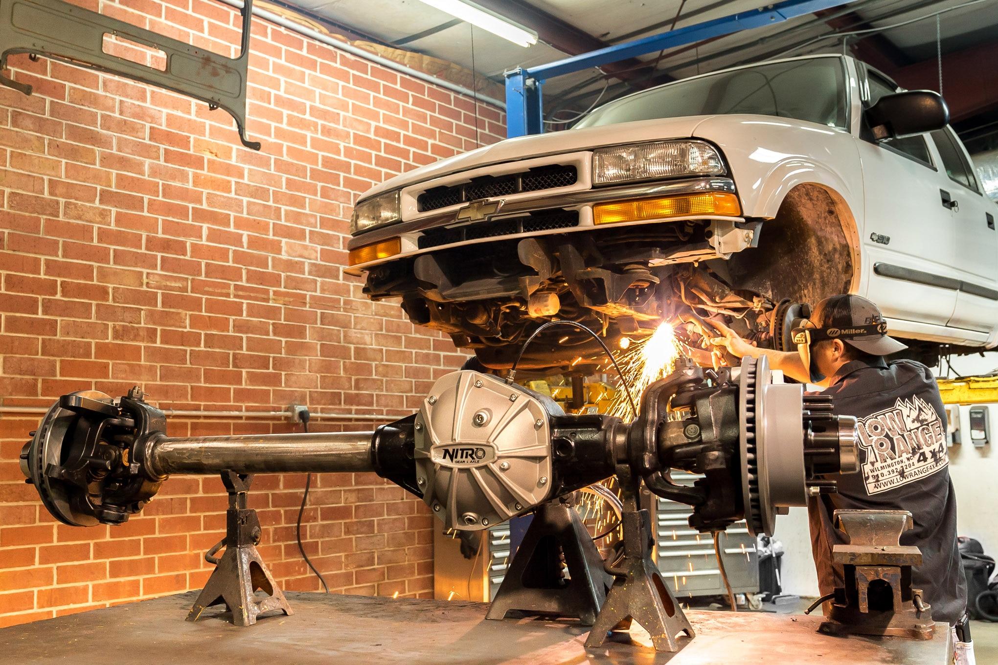 1 ton axle swap dana 60 14 bolt ARB Nitro Gear S 10 sas lead