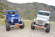 031 jeep willys 1951 cj 3a pair two father son build chevy v8 peifer