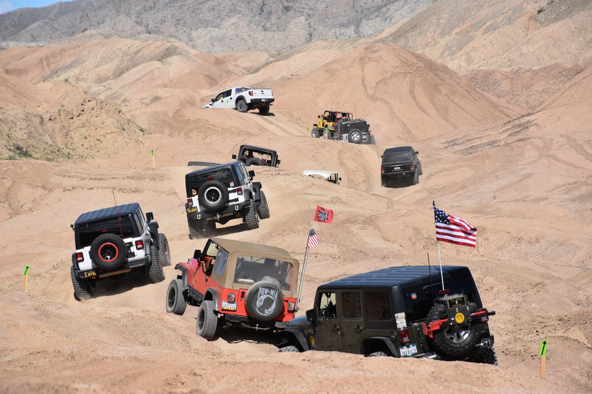 57th annual TDS desert safari lead